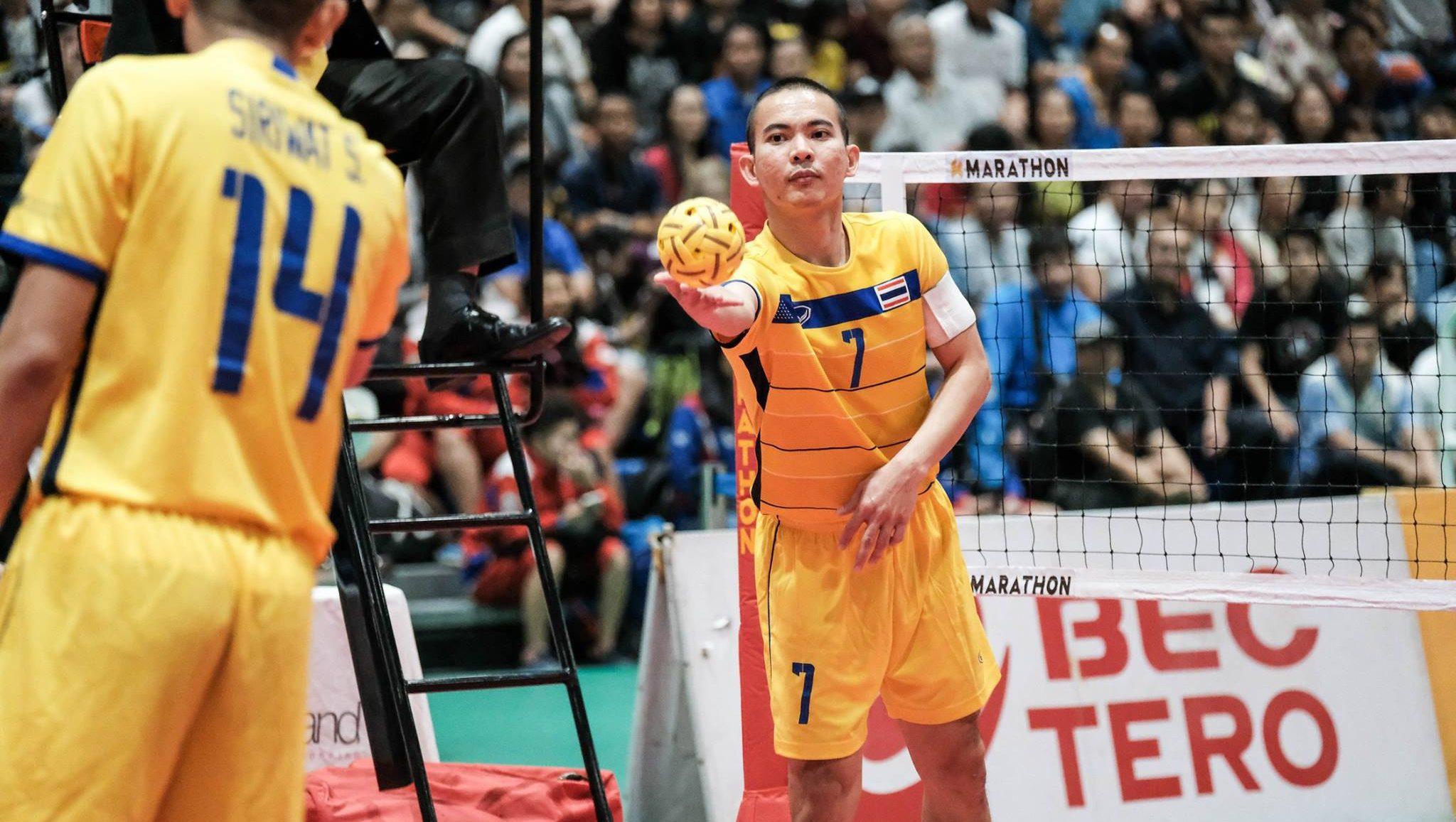 คิงส์คัพ ตะกร้อ ทีมชาติไทย