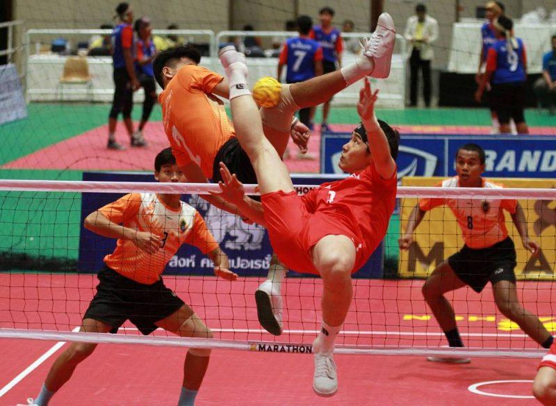 ตะกร้อ ตะกร้อ ชิงชนะเลิศแห่งประเทศไทย
