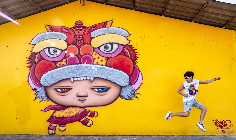 Street Art Street Art น้องมาร์ดี street art พังงา ที่เที่ยวพังงา ที่เที่ยวภาคใต้ สตรีทอาร์ต สตรีทอาร์ต น้องมาร์ดี สตรีทอาร์ต พังงา เที่ยวพังงา เที่ยวภาคใต้