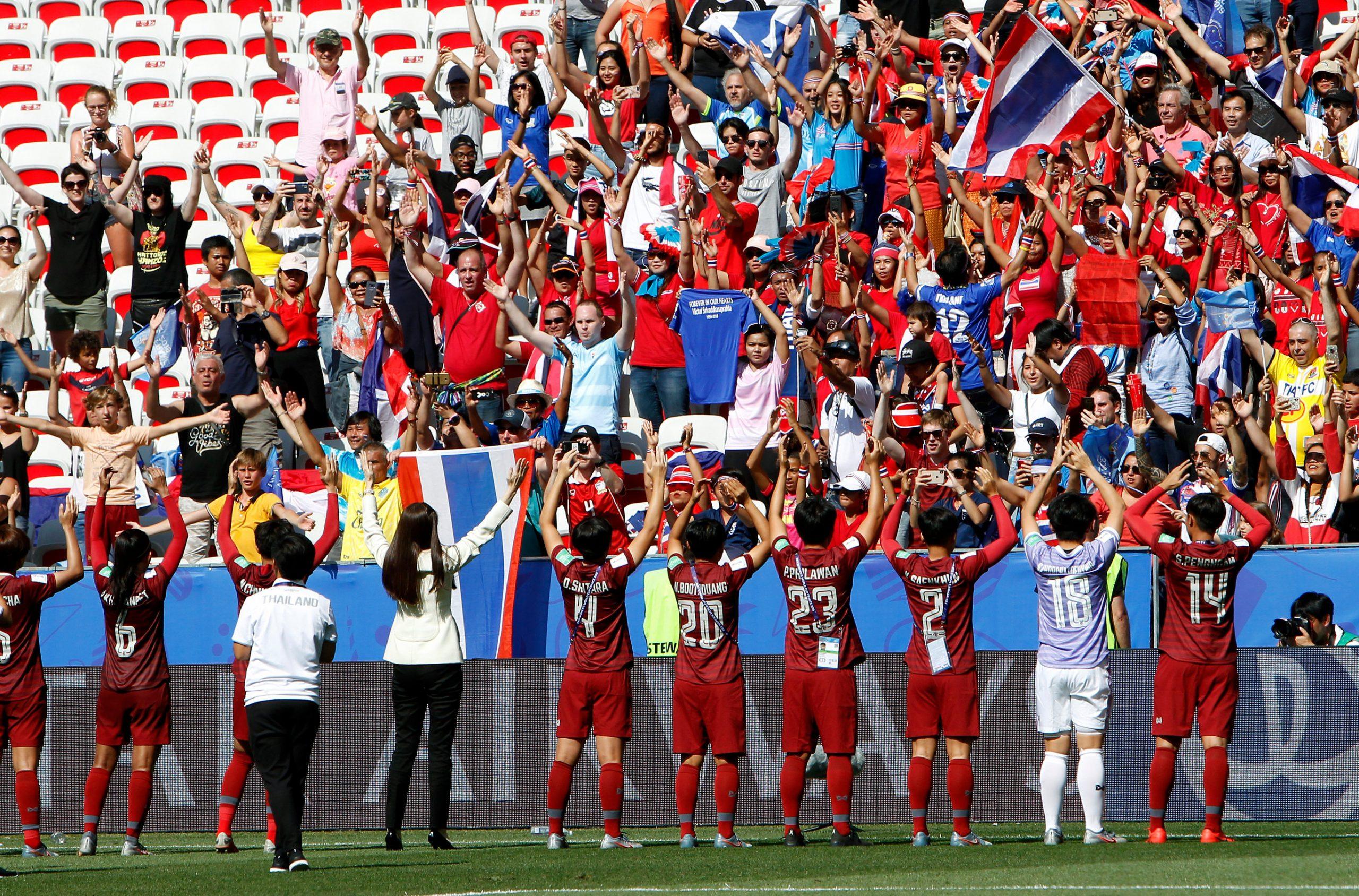 กาญจนา สังข์เงิน ทีมชาติไทย ฟุตบอลหญิง ฟุตบอลหญิงทีมชาติไทย ฟุตบอลโลกหญิง 2019 สวีเดน