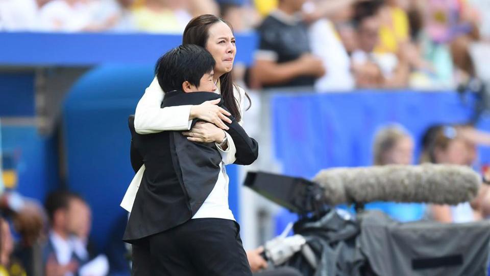 นวลพรรณ ล่ำซำ ฟุตบอลหญิงทีมชาติไทย ฟุตบอลโลกหญิง 2019