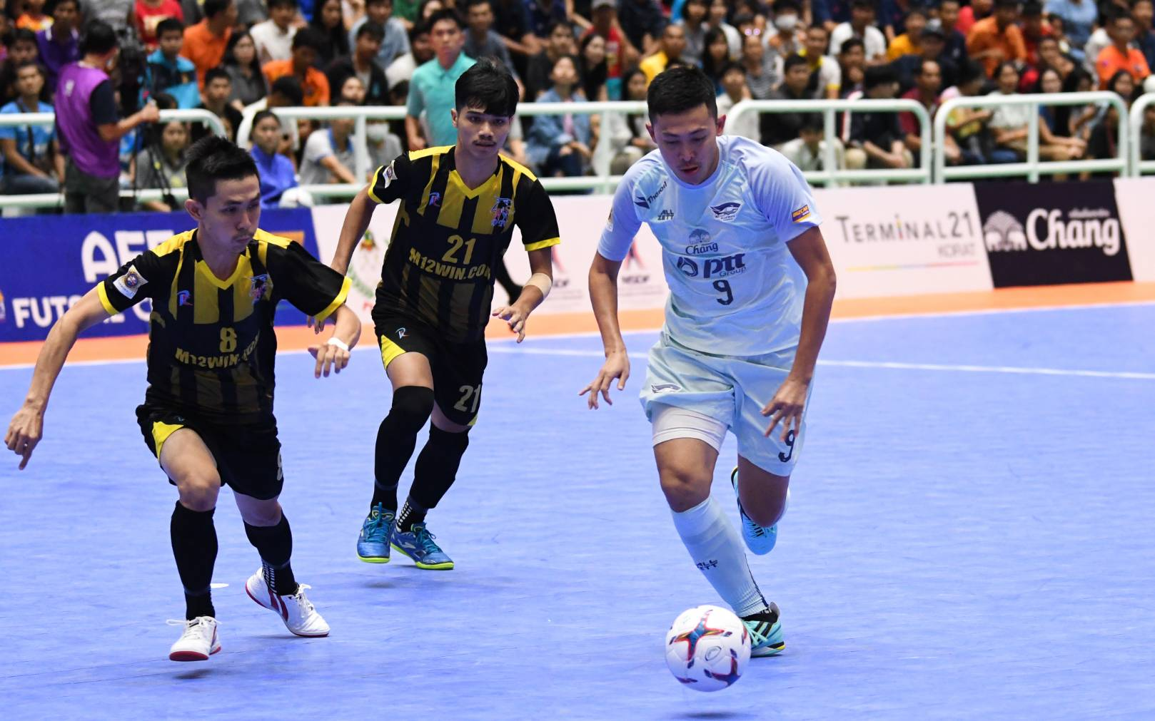 AFF FUTSAL CUP 2019 ชลบุรี พีทีที บลูเวฟ ศุภวุฒิ เถื่อนกลาง