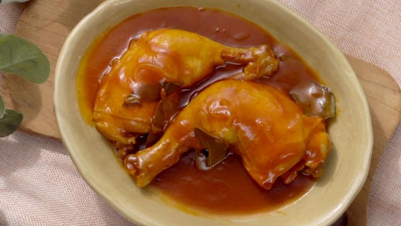 กินข้าวกัน วิธีทำ ไก่น้ำแดง สูตรอาหาร เมนูไก่ ไก่น้ำแดง