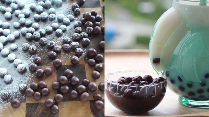 ชานมไข่มุก ชาไข่มุก วิธีทำ ไข่มุก สุตรขนม สูตรอาหาร สูตรเครื่องดื่ม เครื่องดื่ม ไข่มุก ไข่มุกน้ำตาลทรายแดง