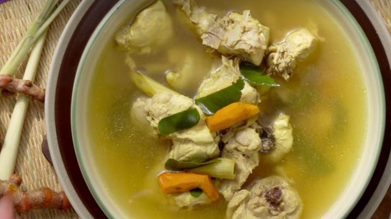 กินข้าวกัน ขมิ้น วิธีทำ ไก่ต้มขมิ้น สูตรอาหาร ไก่ต้ม ไก่ต้มขมิ้น