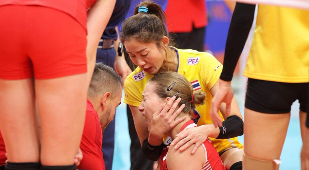 ตุรกี ทีมชาติไทย นุศรา ต้อมคำ วอลเลย์บอล เนชั่นส์ ลีก