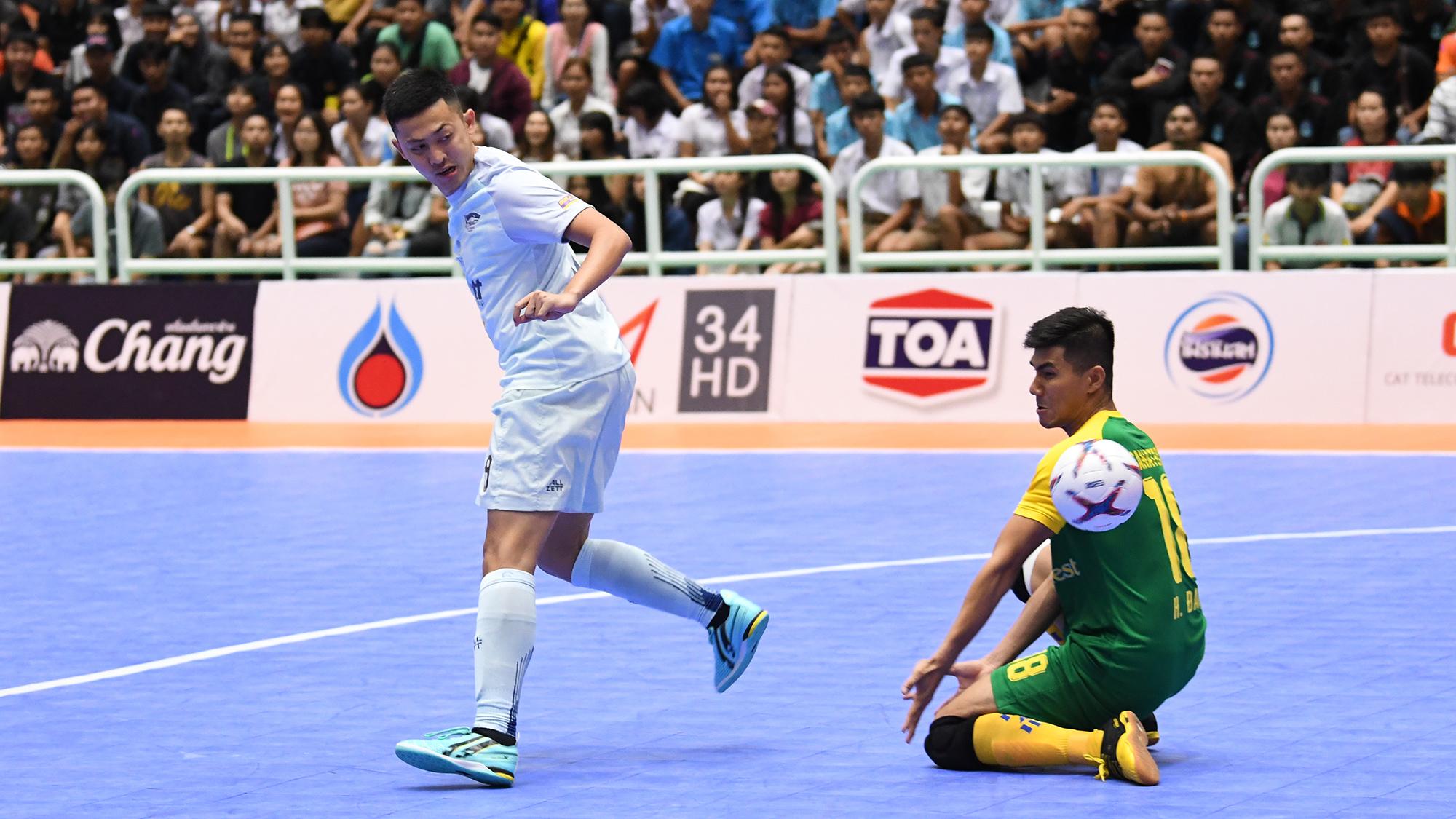 AFF FUTSAL CUP 2019 ซานนาเทค คานหัว พีทีที บลูเวฟ ชลบุรี