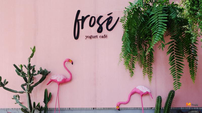 Frosé Yogurt Café Frozen Yogurt คาเฟ่ คาเฟ่เชียงใหม่ ร้านกาแฟเชียงใหม่ เชียงใหม่ โฟร่เซ่ โยเกิร์ต โยเกิร์ต