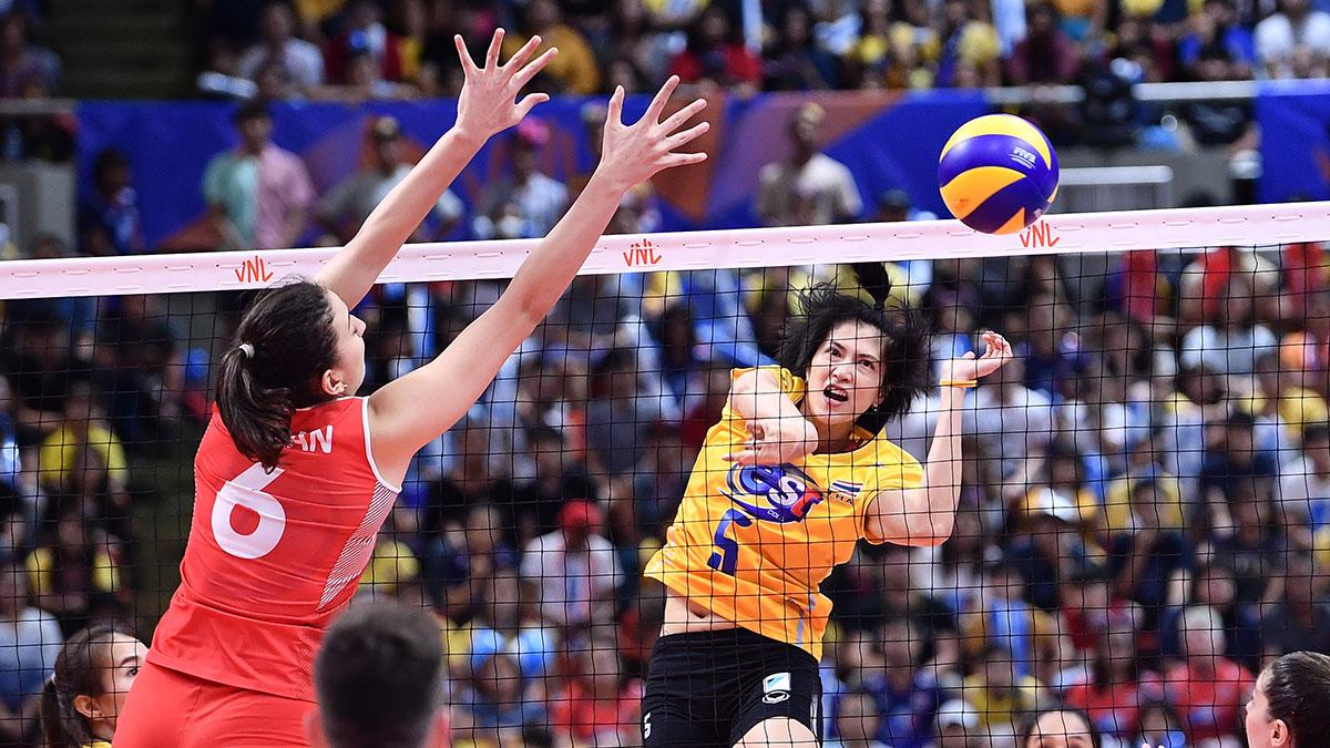 ทีมชาติตุรกี ทีมชาติไทย วอลเลย์บอลหญิง เนชั่นส์ ลีก 2019