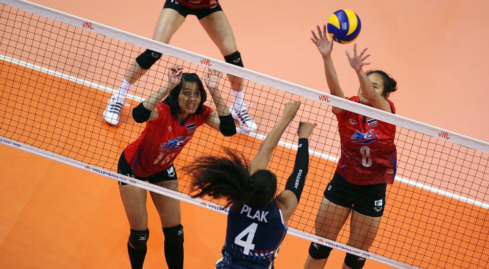 ทีมชาติไทย ทีมตบสาวไทย วอลเลย์บอล ฮอลแลนด์ เนชั่นส์ ลีก