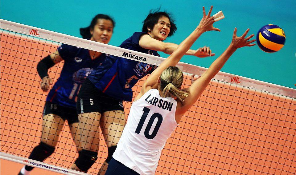 ทีมตบสาวไทย วอลเลย์บอล วอลเลย์บอลหญิงทีมชาติไทย เนชั่นส์ ลีก 2019