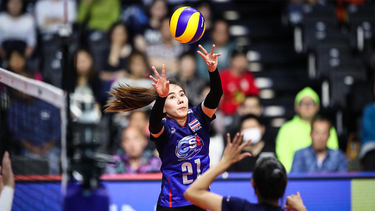 ทีมชาติบราซิล ทีมชาติไทย วอลเลย์บอลหญิง เนชั่นส์ ลีก
