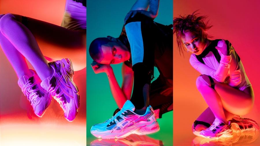 ASICS fashion GEL KAYANO 5 OG GEL-KAYANO HBX hypebeast Sneaker Y2K รองเท้า สนีกเกอร์ แฟชั่น