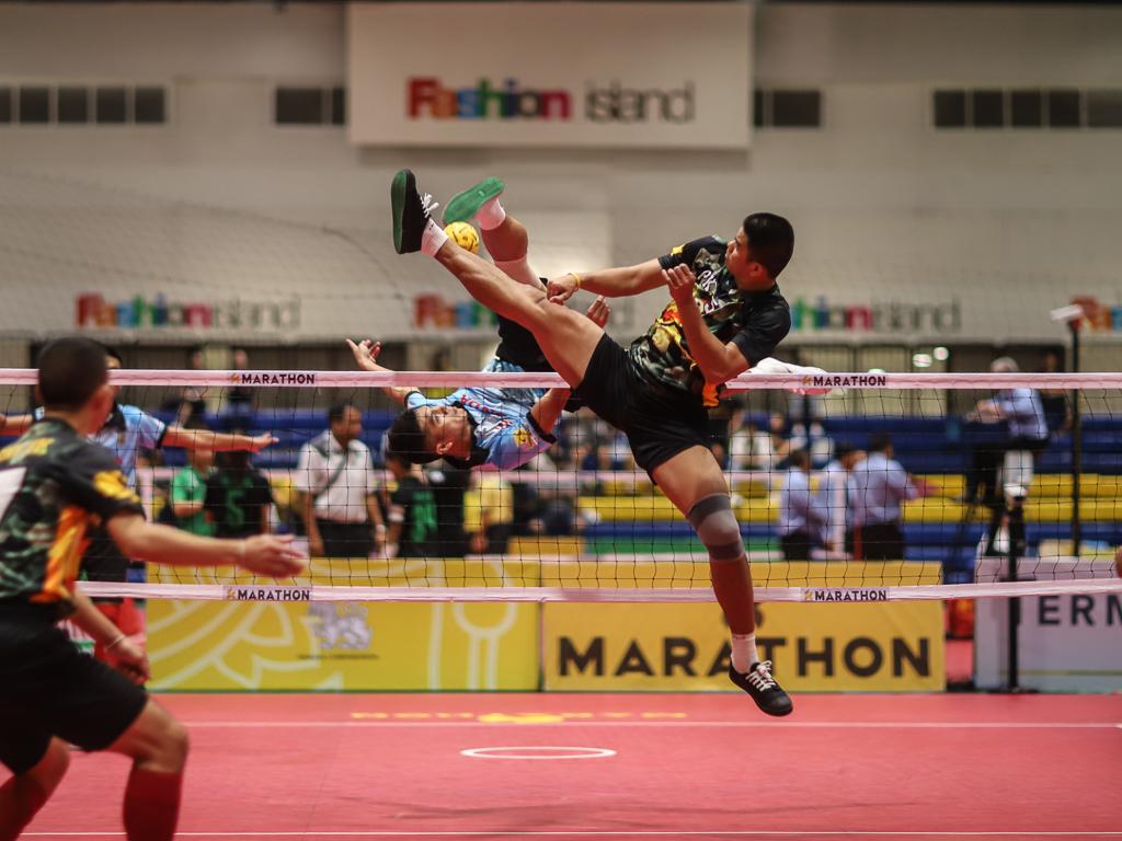 กองทัพบก ตะกร้อ ตะกร้อชิงชนะเลิศแห่งประเทศไทย ราชนาวี ฮอนด้า