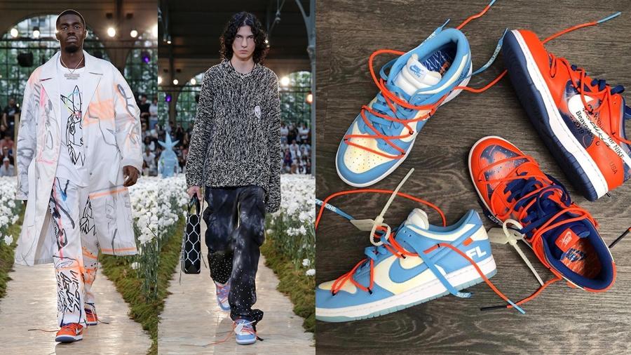 Dunk Low fashion Futura nike nike sb Off-White Paris Fashion Week Sneaker Virgil Abloh กราฟฟิตี้ รองเท้า สตรีทอาร์ต สนีกเกอร์ แฟชั่น ไนกี้