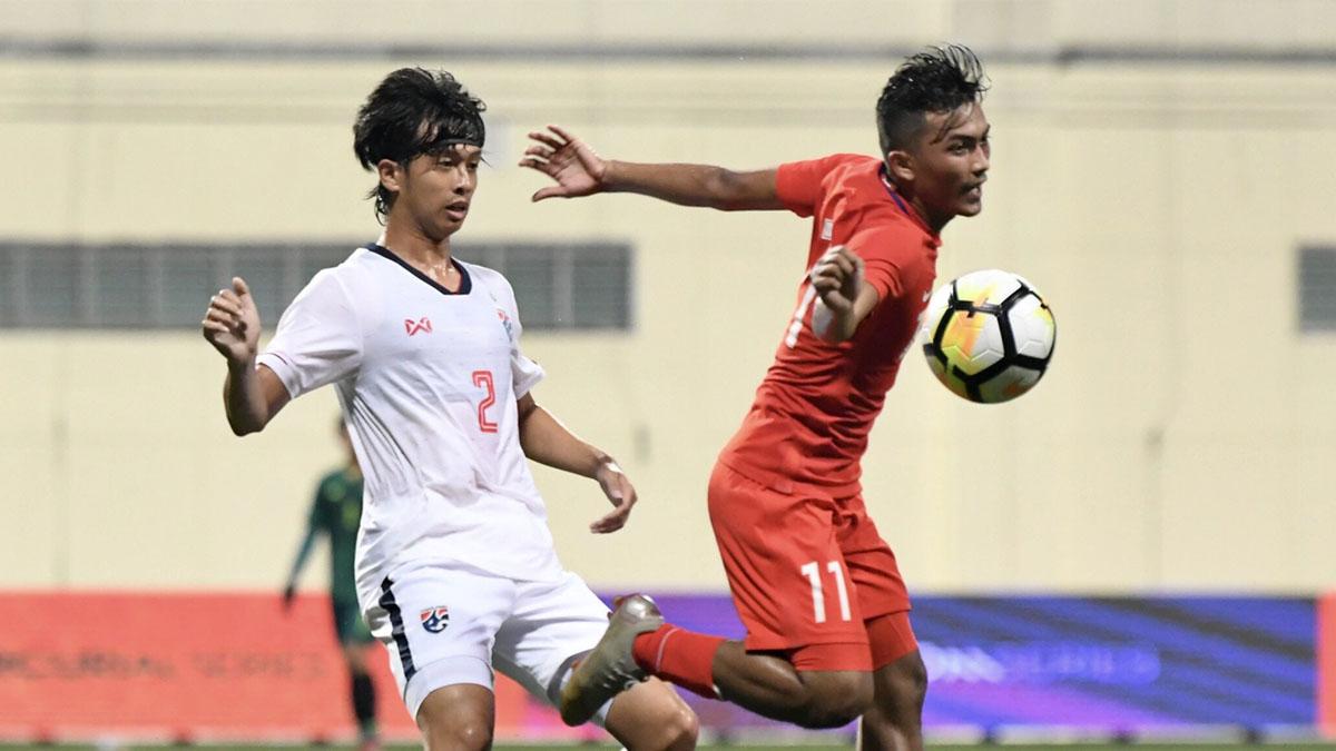 ทีมชาติไทย ยู-23 เมอร์ไลออน คัพ 2019