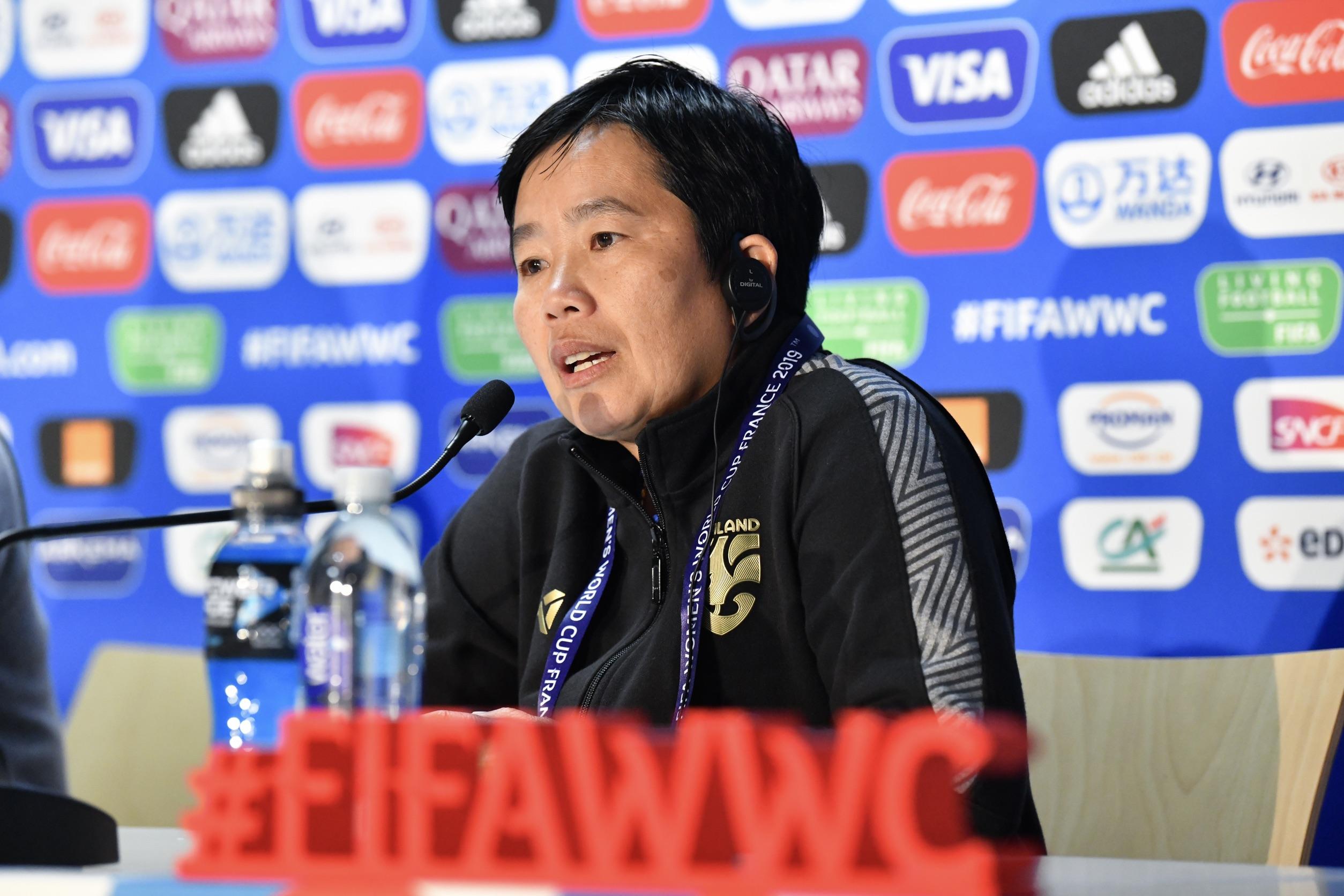 ทีมชาติสหรัฐอเมริกา ฟุตบอลหญิงชิงแชมป์โลก 2019 ฟุตบอลหญิงทีมชาติไทย หนึ่งฤทัย สระทองเวียน