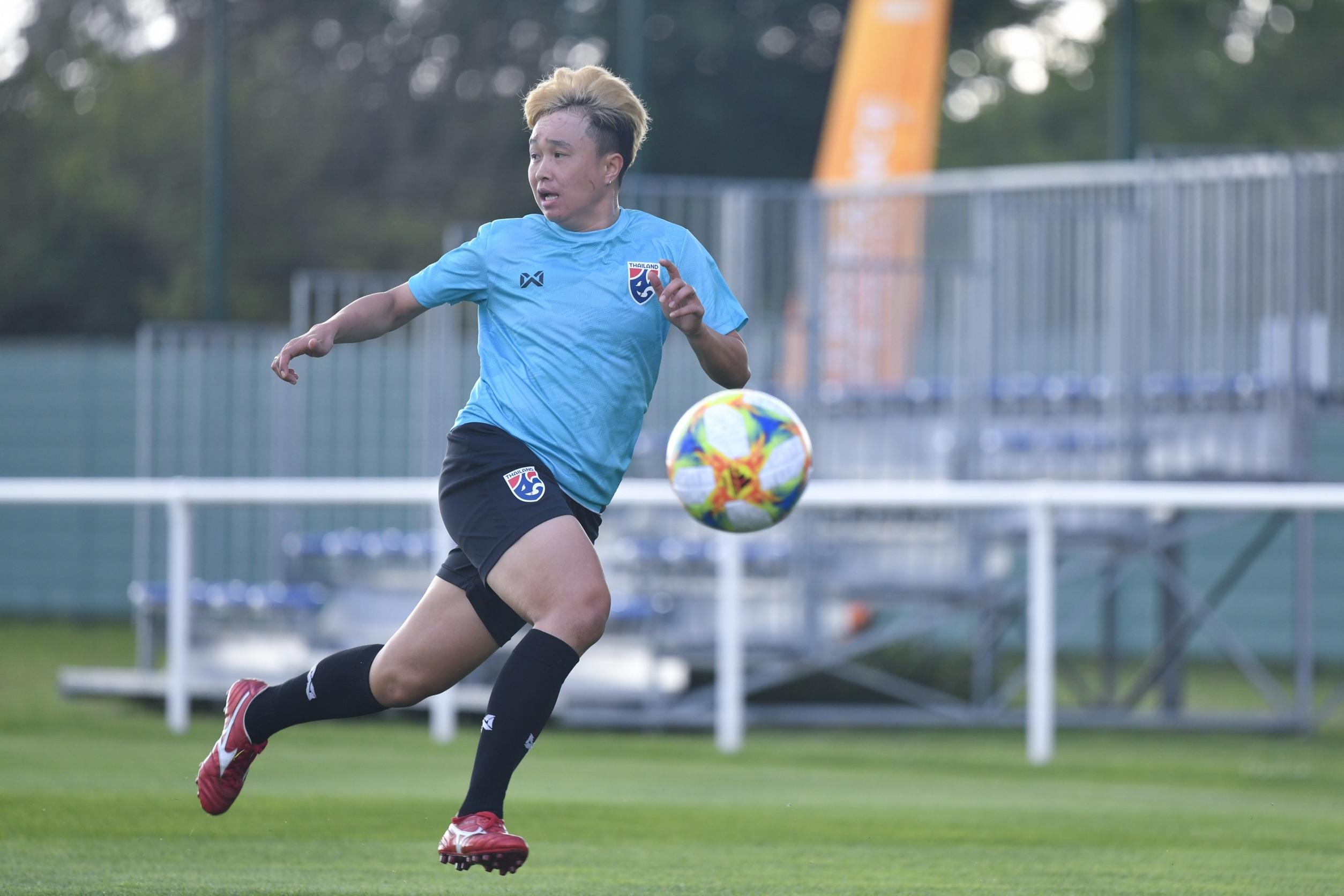 ทีมชาติสหรัฐอเมริกา ฟุตบอลหญิงชิงแชมป์โลก 2019 ฟุตบอลหญิงทีมชาติไทย รัตติกาล ทองสมบัติ