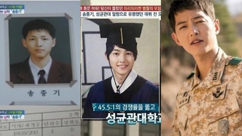 Descendants of the Sun Song Joong Ki กัปตันยูชีจิน การศึกษา ซงจุงกิ ย้อนวัยเรียน สามีแห่งชาติ