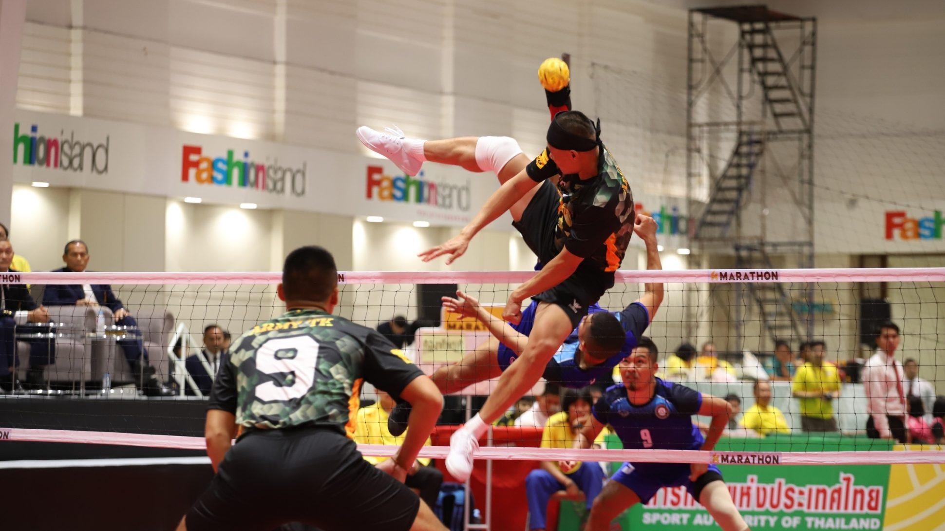 ตะกร้อ ตะกร้อชิงชนะเลิศแห่งประเทศไทย พรชัย เค้าแก้ว