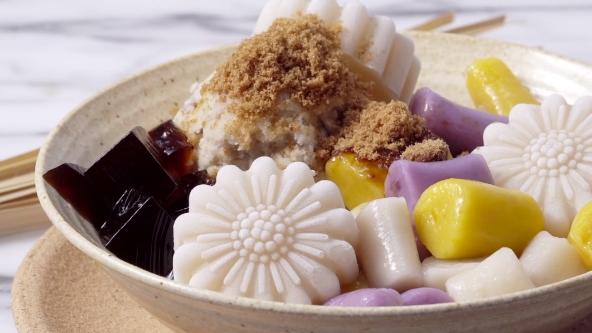 กินข้าวกัน ทาโร่คิวบ์ บัวลอย สูตรขนม สูตรอาหาร ไต้หวัน