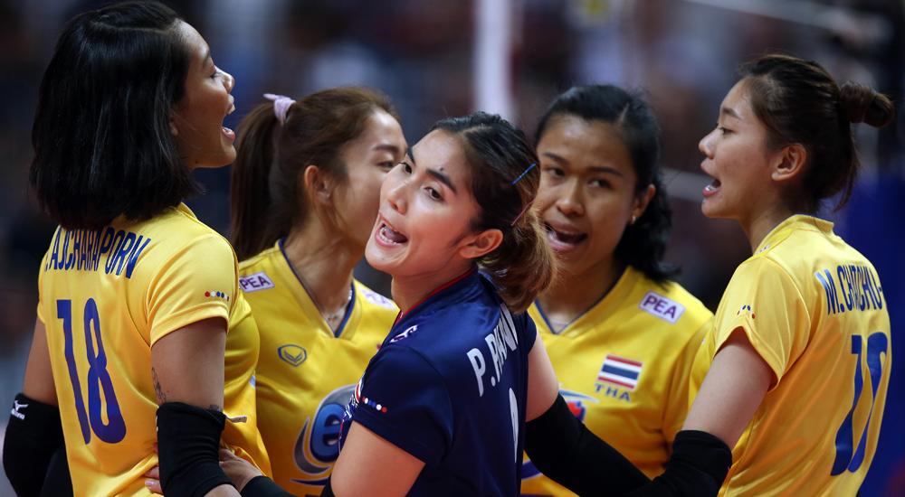 ทีมชาติไทย ทีมตบสาวไทย รัสเซีย วอลเลย์บอล เนชั่นส์ ลีก