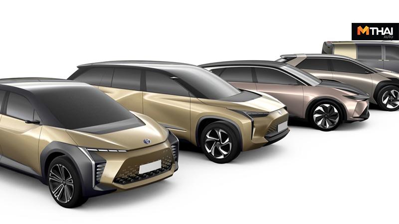 BEV e-TNG Toyota รถยนต์ไฟฟ้า แพลตฟอร์ม