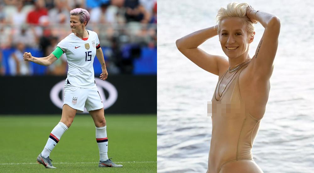 Sports Illustrated ฟุตบอลโลกหญิง สหรัฐอเมริกา เมแกน ราปิโน