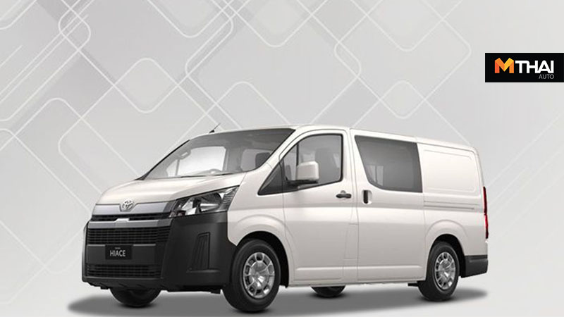 2019 Hiace Toyota Hiace รถตู้ เครื่องยนต์ดีเซล โตดยต้า ไฮเอซ