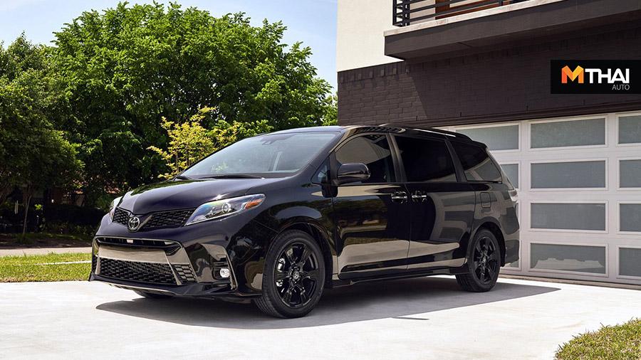 Mini MPV mpv Nightshade Edition Toyota Sienna