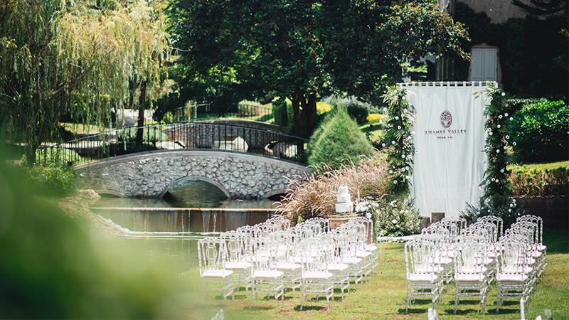 งานแต่งงาน จัดงานแต่งงาน สถานที่ขอแต่งงาน สถานที่จัดงานแต่งงาน โรงแรมเทมส์ วัลลีย์