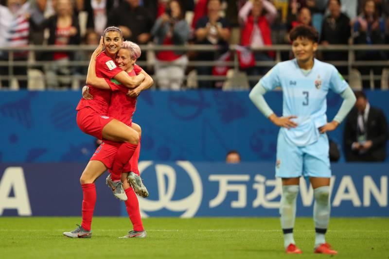 ทีมชาตืไทย ฟุตบอลหญิงชิงแชมป์โลก ฟุตบอลหญิงไทย ฟุตบอลโลก สหรัฐอเมริกา
