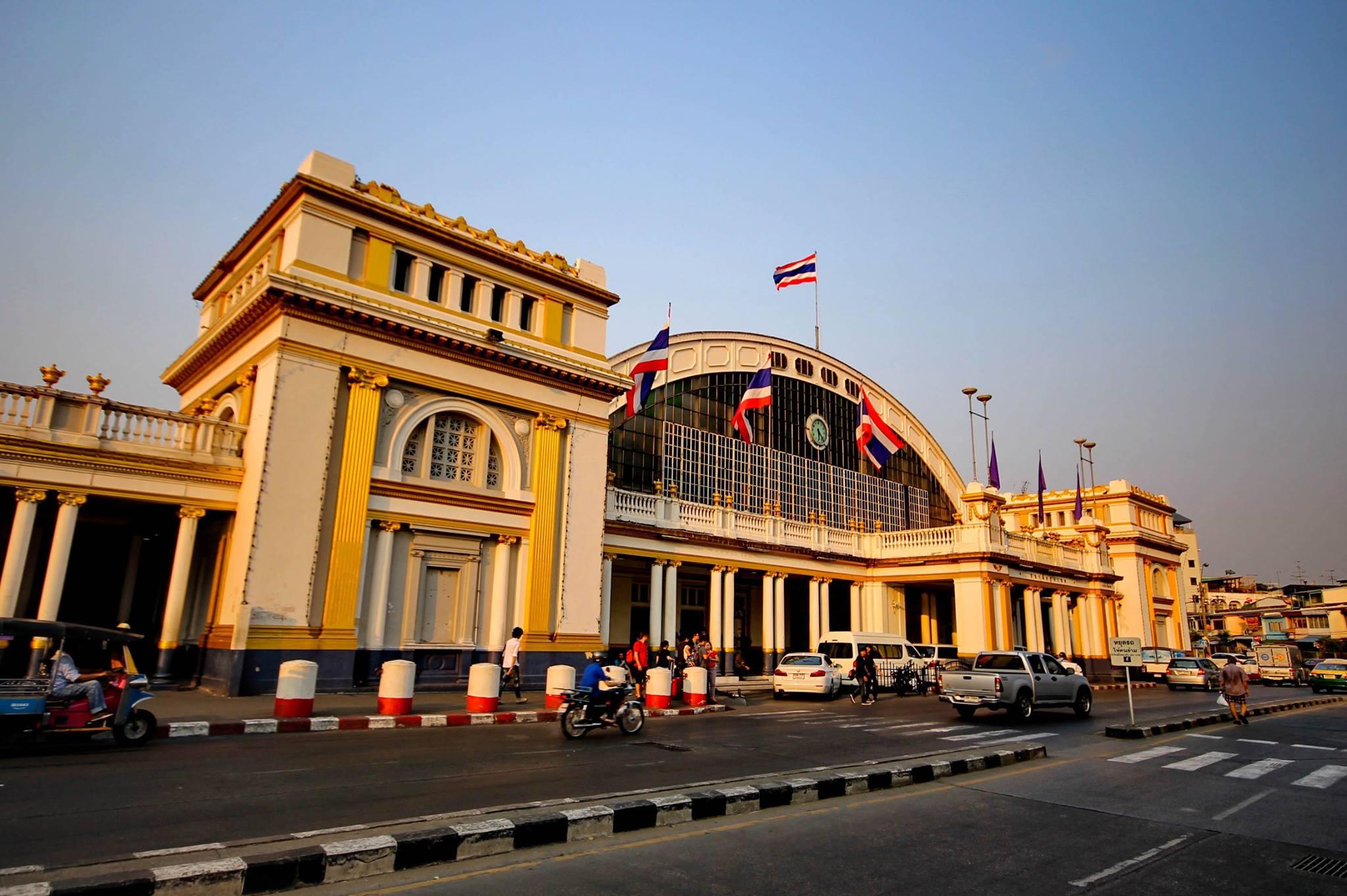 ที่เที่ยวกรุงเทพ รถไฟ รถไฟไทย สถานีกรุงเทพ สถานีรถไฟ สถานีรถไฟกรุงเทพ สถานีรถไฟหัวลำโพง สถานีหัวลำโพง หัวลำโพง เที่ยวกรุงเทพ