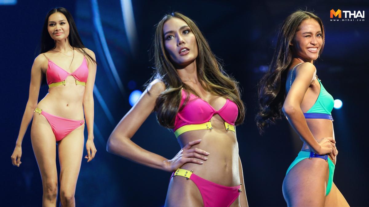 Miss Universe Thailand Miss Universe Thailand 2019 ชุดว่ายน้ำ มิสยูนิเวิร์สไทยแลนด์ ชุดว่ายน้ำ รอบ Preliminary ชุดว่ายน้ำนางงาม ประกวดนางงาม มิสยูนิเวิร์สไทยแลนด์ มิสยูนิเวิร์สไทยแลนด์ 2019 รอบ Preliminary