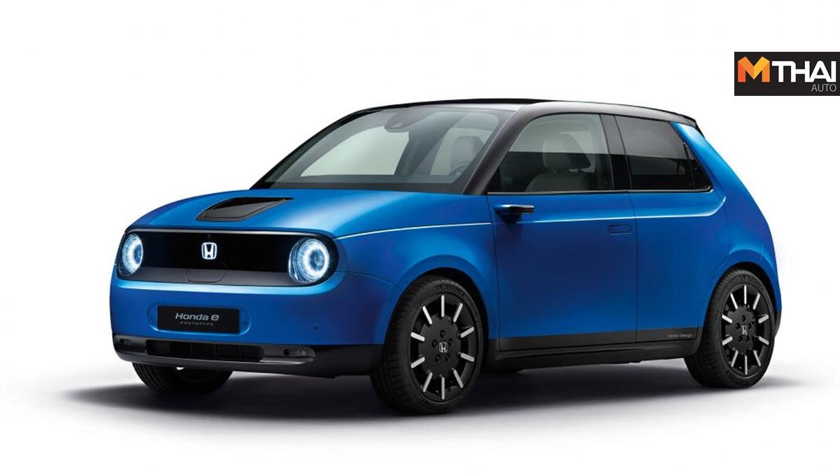 HONDA Honda e รถยนต์ไฟฟ้า ฮอนด้า