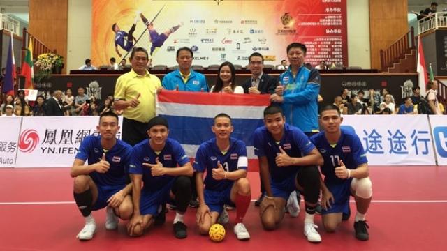 ตะกร้อ ตะกร้อ เอเชียนแชมเปี้ยนชิพ 2019 ทีมชาติไทย