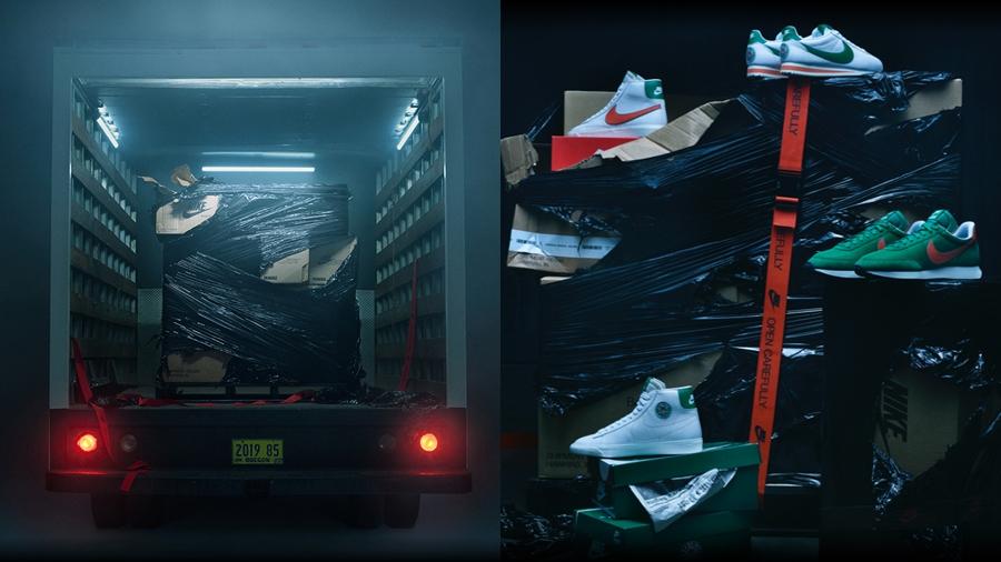Hawkins High nike Nike x Stranger Things Stranger Things รองเท้าผ้าใบ สตรีทแฟชั่น สนีกเกอร์ แฟชั่น