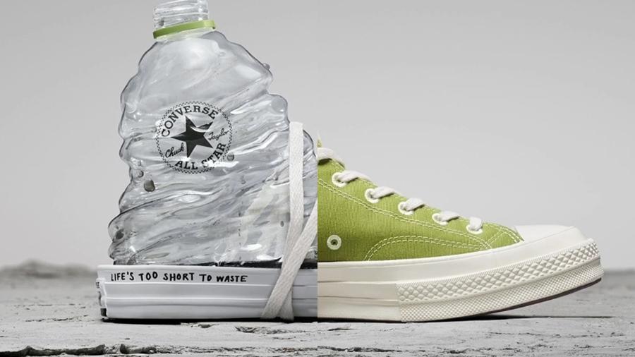 converse Converse ผลิตรองเท้าจากพลาสติกใช้แล้ว fashion street fashion รองเท้าจากพลาสติกใช้แล้ว สตรีทแฟชั่น สนีกเกอร์ แฟชั่น