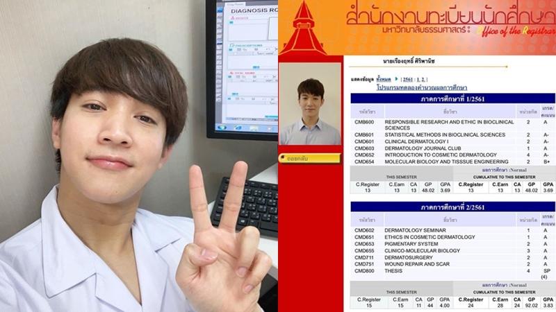 Dermatology CICM Thammasat MSc Dermatology ตจวิทยา ริท เดอะสตาร์ เรืองฤทธิ์ ศิริพานิช แพทยศาสตร์นานาชาติจุฬาภรณ์ ธรรมศาสตร์ ไอดอลการศึกษา