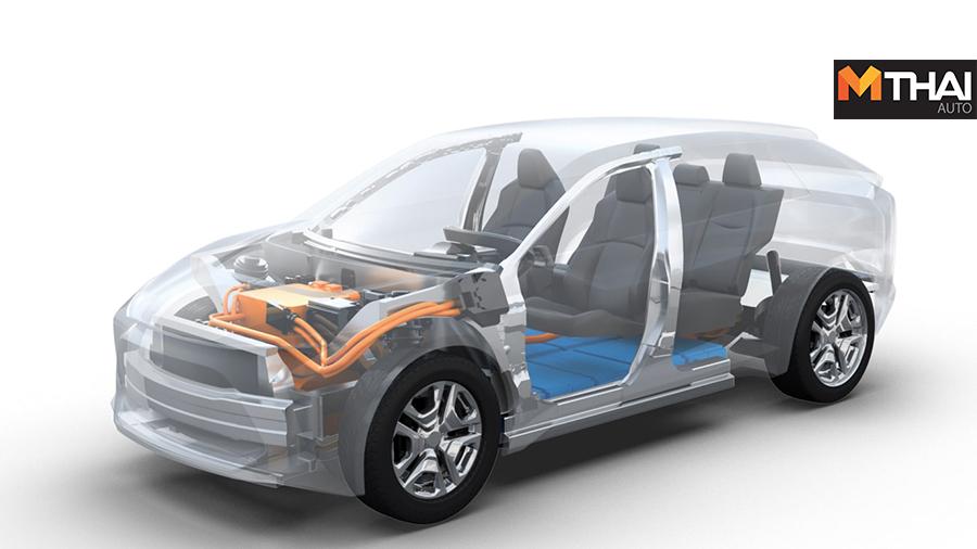 BEV EV subaru suv Toyota รถยนต์ไฟฟ้า โตโยโต้