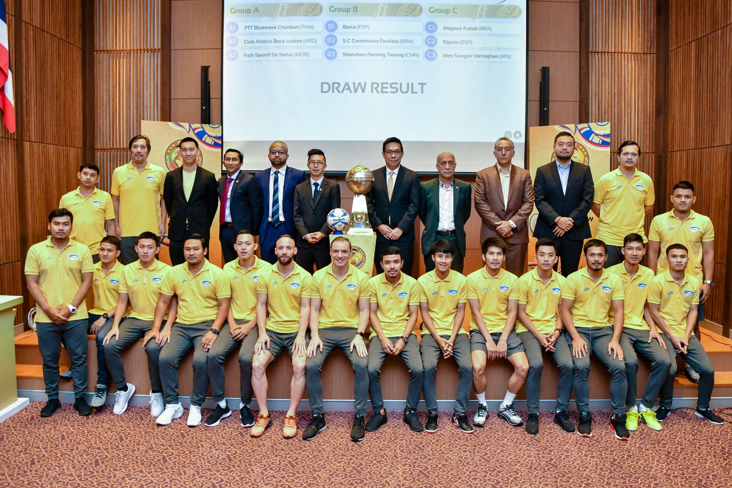 World Intercontinental Futsal Cup 2019 พีทีที บลูเวฟ ชลบุรี ฟัตห์ สปอร์ตทิฟ โบคา จูเนียร์