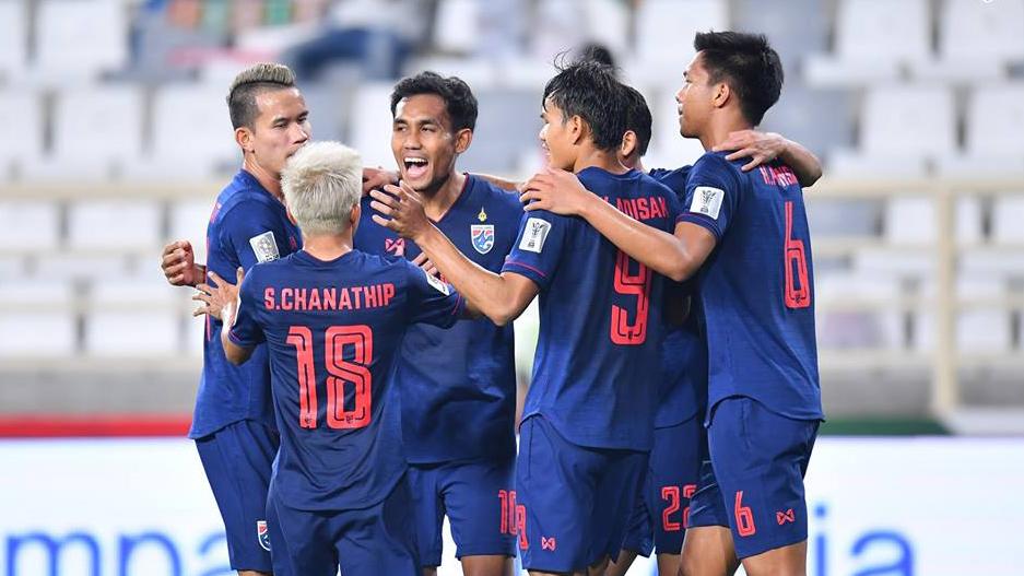 ทีมชาติยูเออี ทีมชาติอินโดนีเซีย ทีมชาติเวียดนาม ทีมชาติไทย ฟุตบอลโลก 2022 รอบคัดเลือก โซนเอเชีย