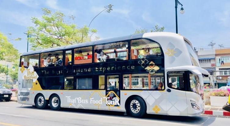 City Sightseeing Thai Bus Food Tour รถบัสสองชั้น เกาะรัตนโกสินทร์ เที่ยว เกาะรัตนโกสินทร์ เที่ยวกรุงเทพ