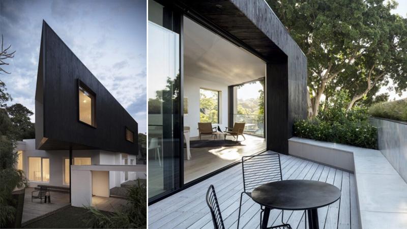 บ้านทรงสามเหลี่ยม บ้านพลังงานแสงอาทิตย์ ประหยัดพลังงาน พลังงานแสงอาทิตย์ แสงธรรมชาติ โซลาร์เซลล์