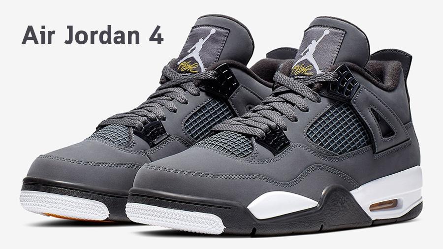 AirJordan AirJordan4 AirJordan4CoolGray AirJordan4Retro nike Sneaker รองเท้า รองเท้าบาส สนีกเกอร์ แฟชั่นรองเท้า