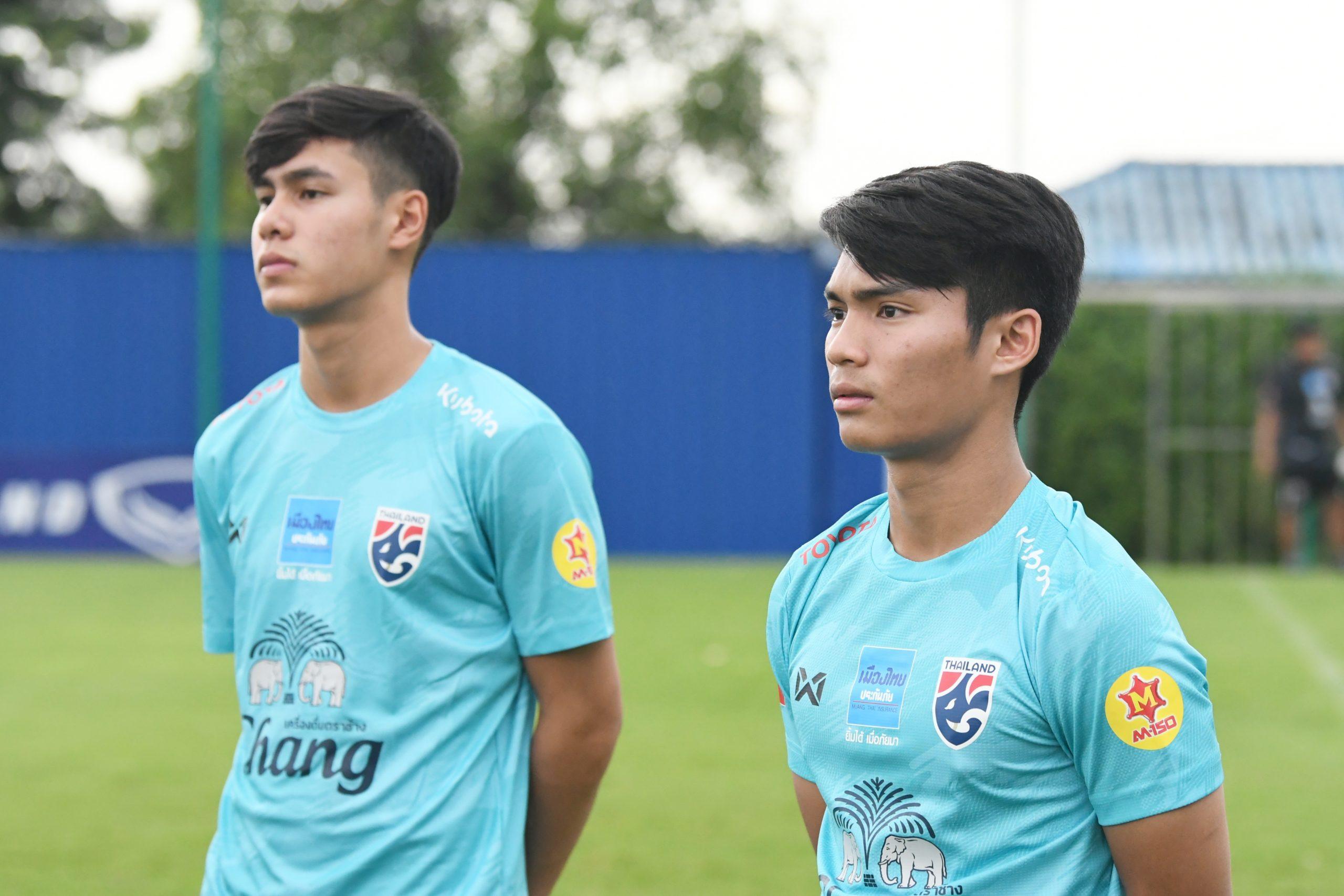 ณพนนันท์ ทิพย์อักษร ทีมชาติไทย U19 ธนธรณ์ น้ำจันทร์