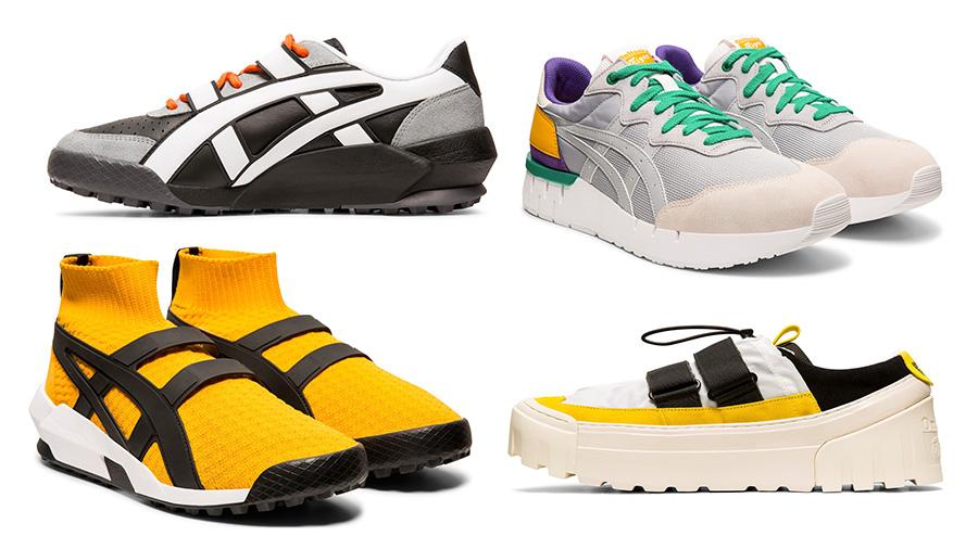 Onitsuka Tiger รองเท้า รองเท้าผู้ชาย สนีกเกอร์ แฟชั่นรองเท้า โอนิซึกะ ไทเกอร์