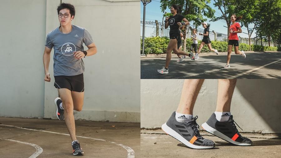 adidas adidas Running Boost Circular Knit running Senseboost Go Sneaker Spotify ซิตี้รัน รองเท้าวิ่ง สนีกเกอร์ อาดิดาส แฟชั่น