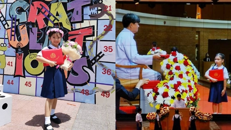 ดาราเด็ก น้องอินเตอร์ นักเรียนผลการเรียนดี อินเตอร์ รุ่งลดารุ่งลิขิตเจริญ เด็ก โรงเรียนอัสสัมชัญธนบุรี ไลลาธิดายักษ์