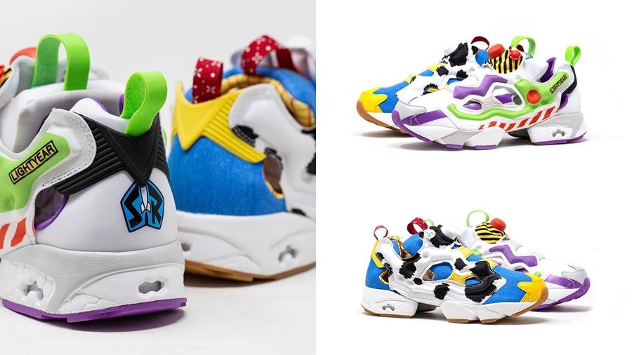 fashion Reebok x Toy Story reebox Toy Story สตรีทแฟชั่น สนีกเกอร์ แฟชั่น